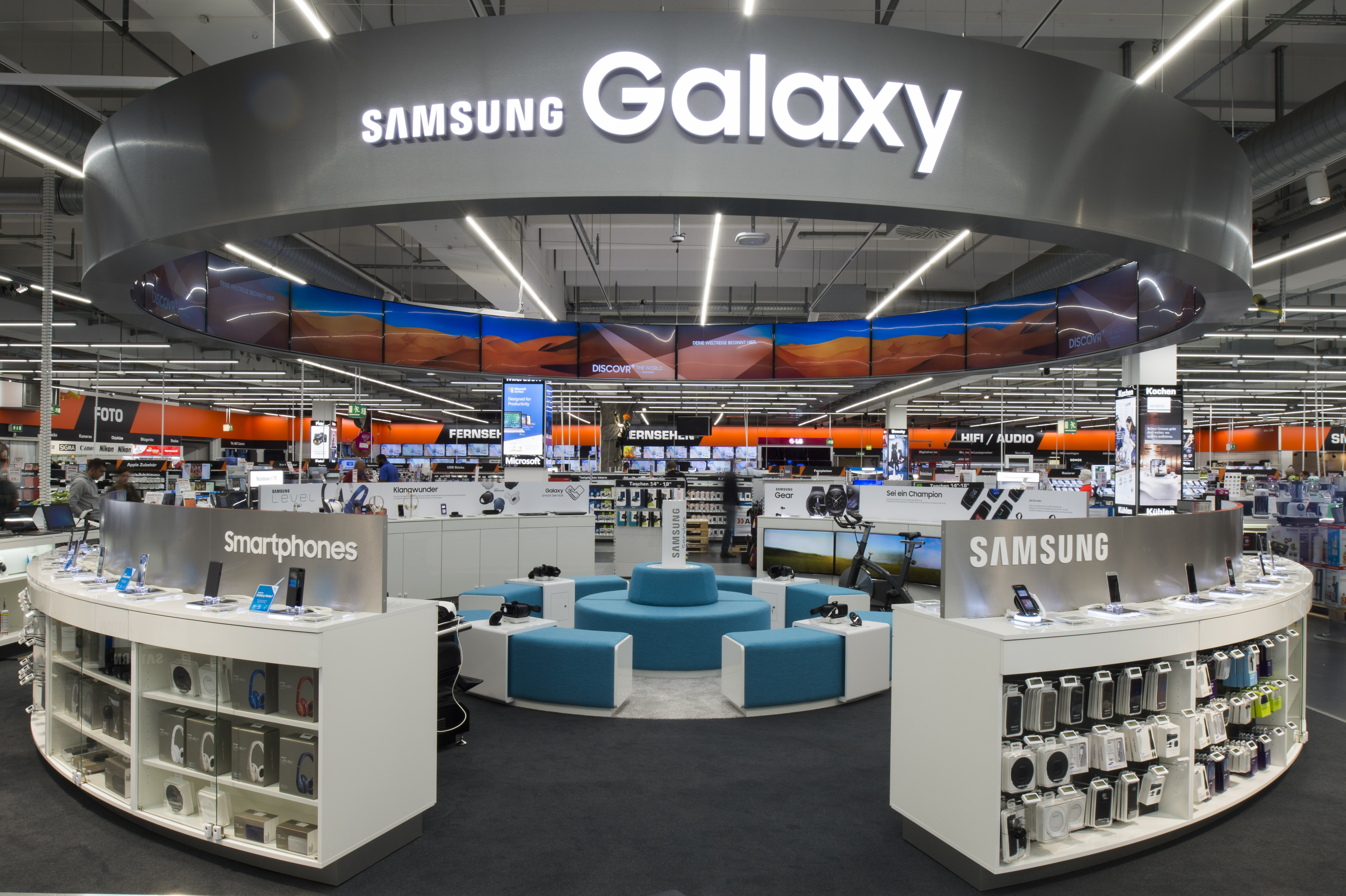 Saturn Ingolstadt Samsung Galaxy World 1