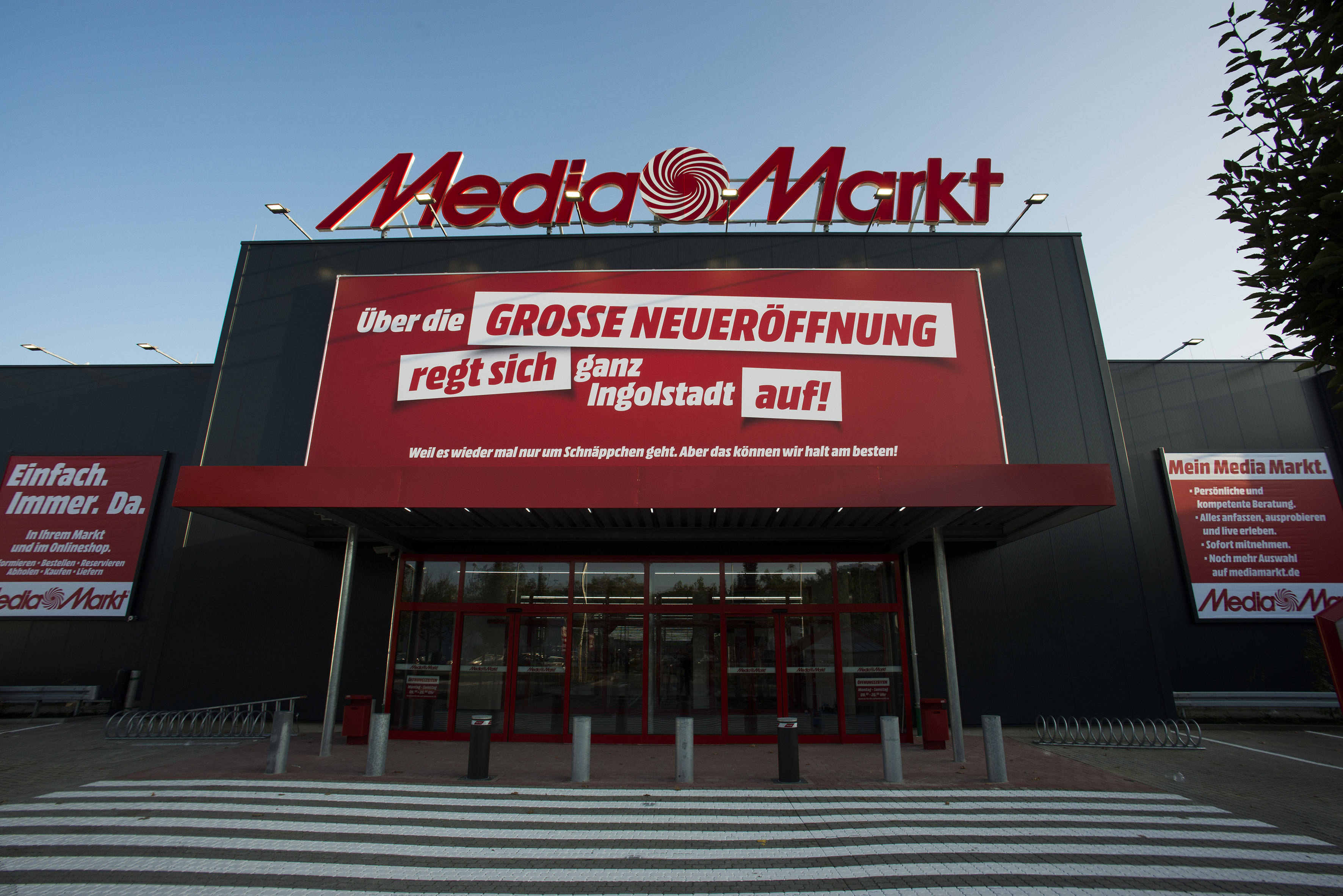 media markt ingolstadt opening mediamarktsaturn retail group. Black Bedroom Furniture Sets. Home Design Ideas