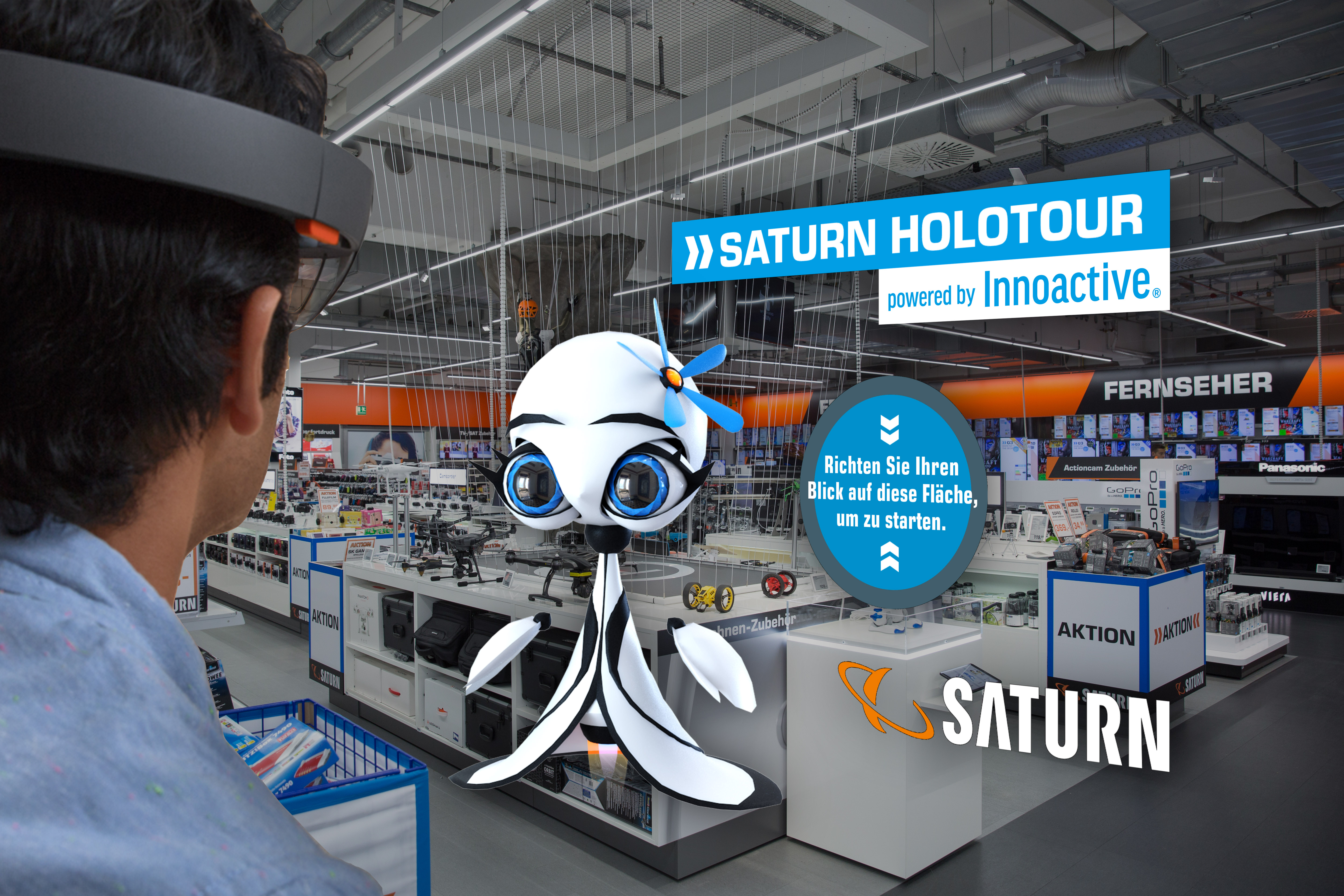 Saturn customers can now try out shopping with augmented reality ... 5b981e4780