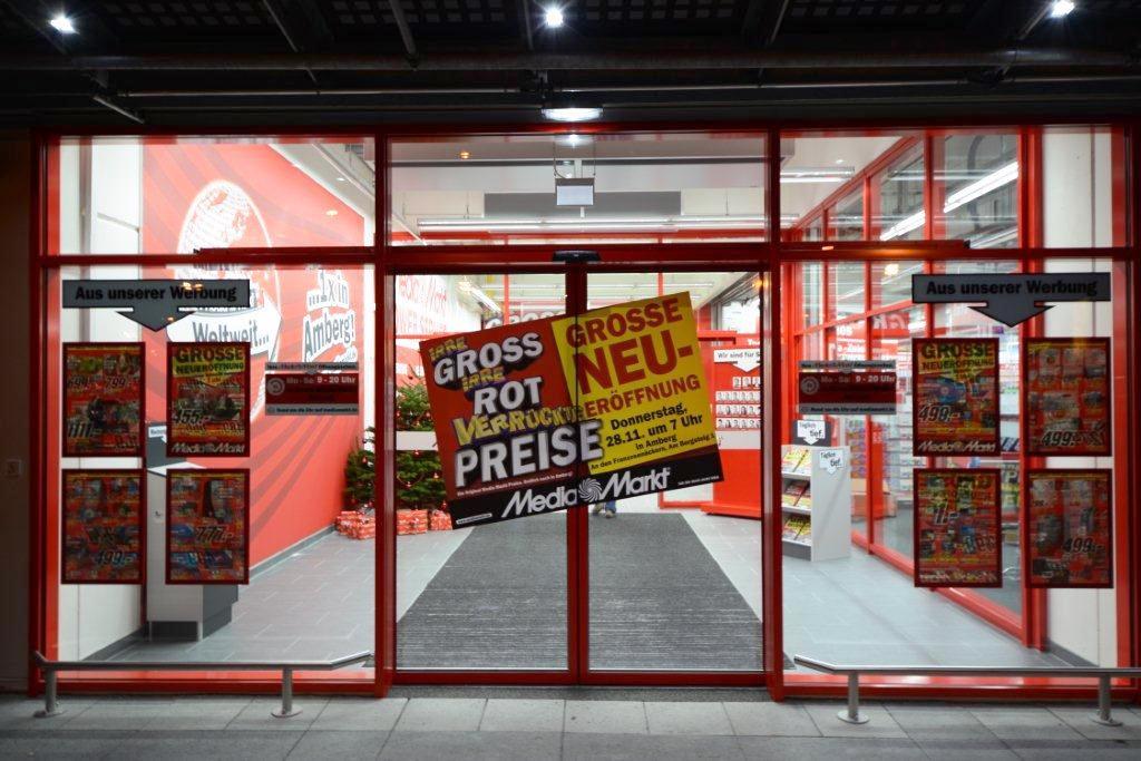 Große Neueröffnung in Amberg: Media Markt startet pünktlich zur ...
