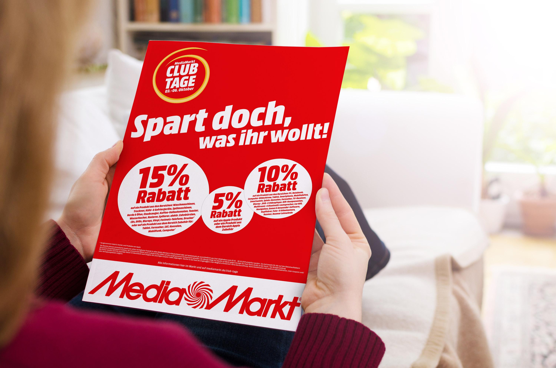 Mediamarkt Club Tage Vom 3 Bis 6 Oktober Bis Zu 15 Prozent Rabatt Sichern Mediamarktsaturn