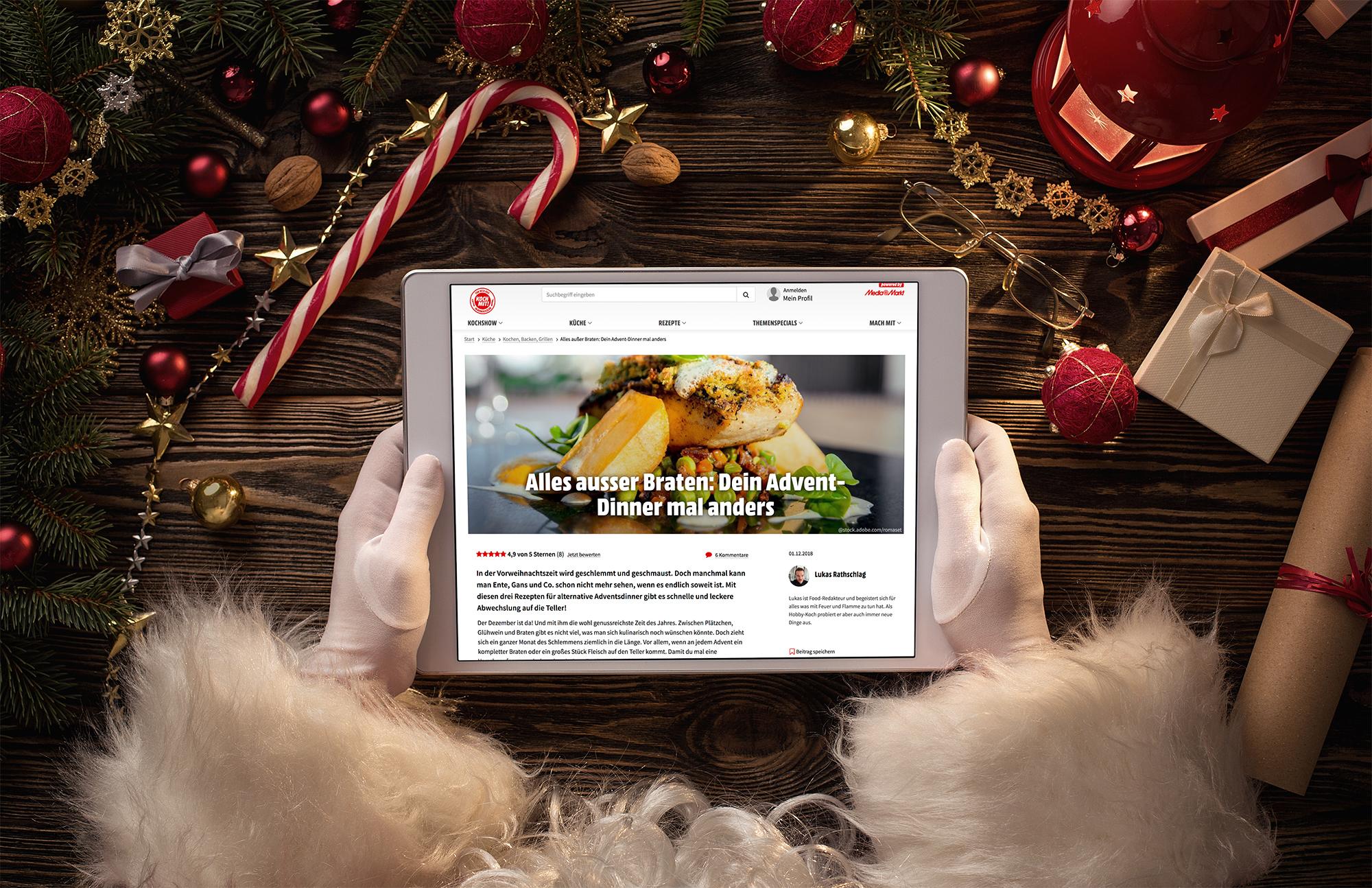 Köstliche Weihnachten Mit Ganz Leichten Back Und Kochrezepten Von