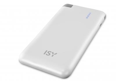 ISY Powerbank IAP-3800-WT