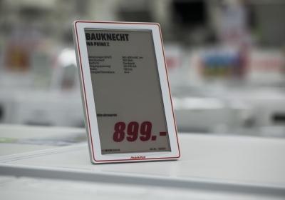 Media Markt Elektronische Preisschilder
