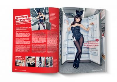 MediaMarkt Club-Magazin WOW - PLAYBOY-Kooperation (2)