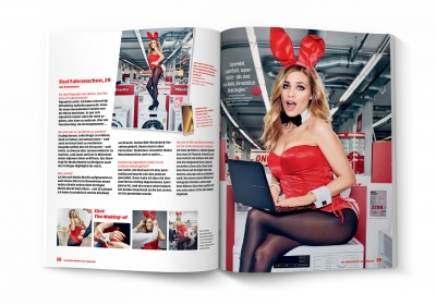 MediaMarkt Club-Magazin WOW - PLAYBOY-Kooperation (3)
