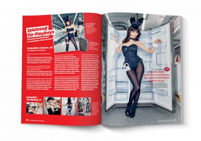 MediaMarkt Club-Magazin WOW - PLAYBOY-Kooperation (2)