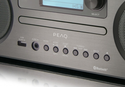 PEAQ Digitalradio PDR 350-BT