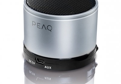 PEAQ Bluetooth Speaker PPA11BT-SL