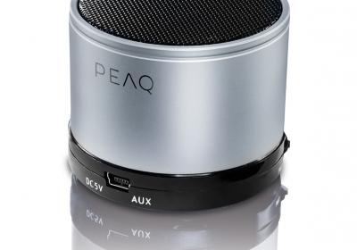 PEAQ Bluetooth Speaker PPA11BT-SL