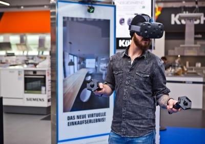 Saturn Virtual Reality Küchenplanung
