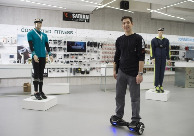 Saturn Connect Hoverboard