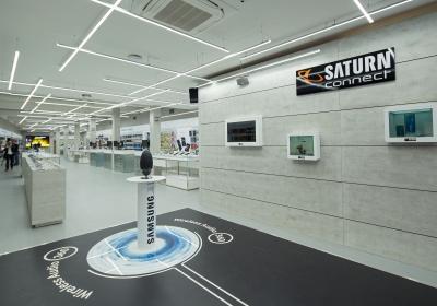Saturn Connect Trier Eingangsbereich