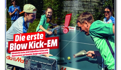 Media Markt Clubmagazin Blow Kick EM
