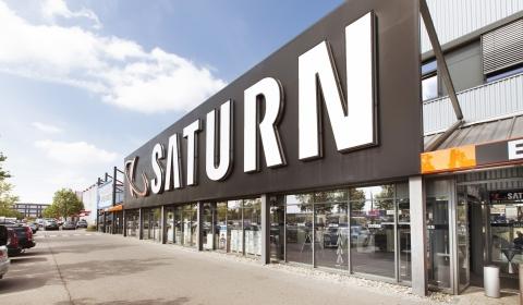 Saturn Ingolstadt Außenfassade