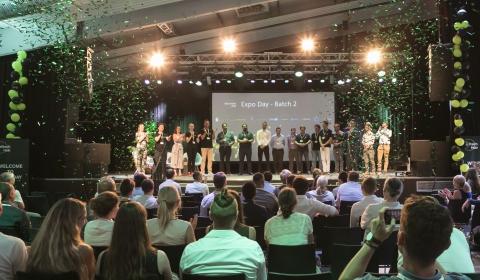 2. Expo Day des Retailtech Hubs im Technikum in München