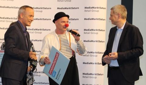 MediaMarktSaturn Spendenübergabe 2017